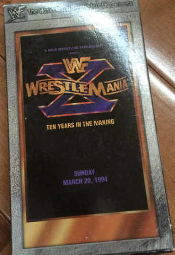 my wrestlemania 10